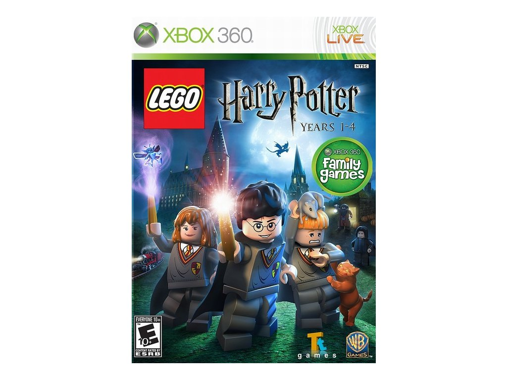 Xbox 360 Lego Harry Potter Years 1-4