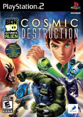 PS2 Ben 10 Ultimate Alien Cosmic Destruction