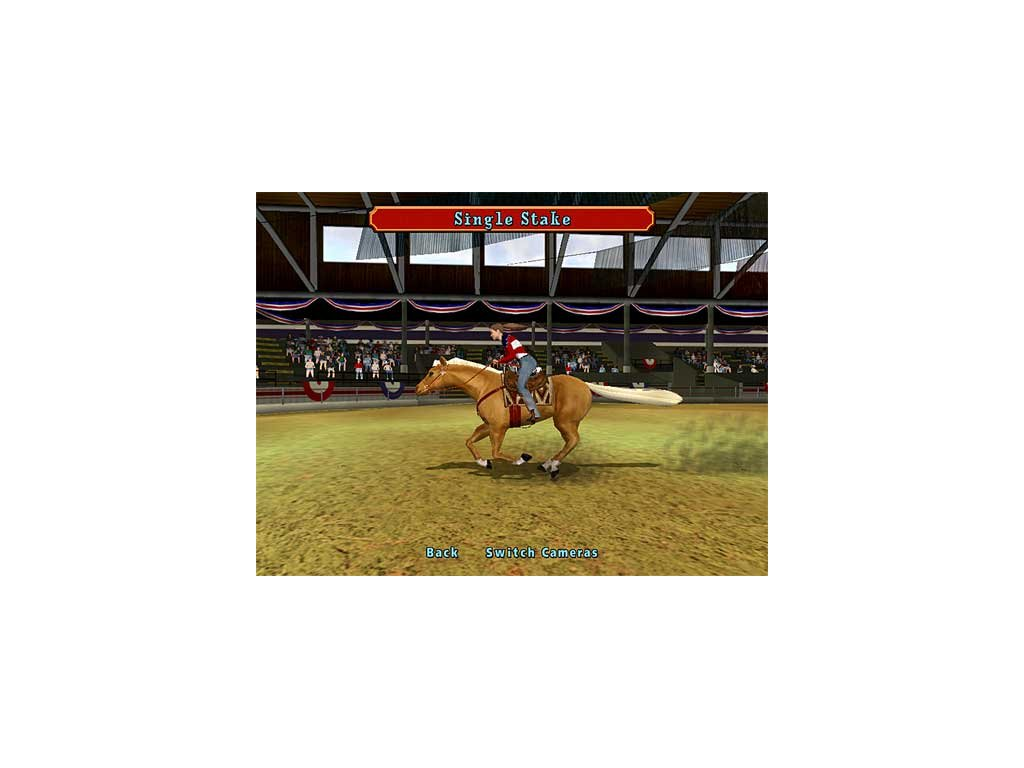 PS2 Let's Ride Silver Buckle Stables