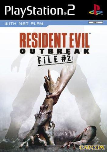 PS2 Resident Evil Outbreak File 2