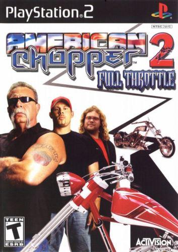 PS2 American Chopper 2 Full Throttle