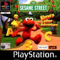 PSX PS1 Sesame Street: Elmo's Letter Adventure (2155)