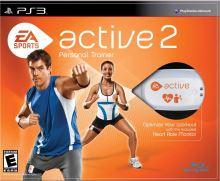 PS3 Active 2 Personal Trainer + kompletní příslušenství