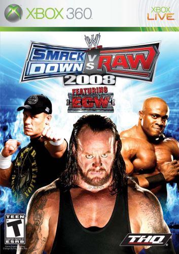 Xbox 360 Smackdown Vs Raw 2008
