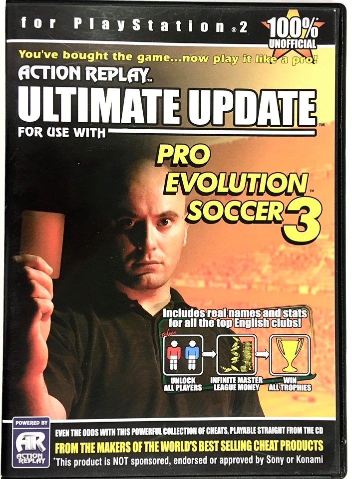 PS2 Pro Evolution Soccer 3 - Action Replay Ultimate Update