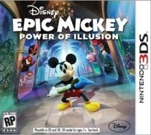 Nintendo 3DS Epic Mickey: Power of Illusion