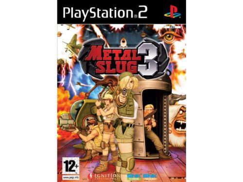 PS2 Metal Slug 3