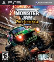 PS3 Monster Jam Path Of Destruction