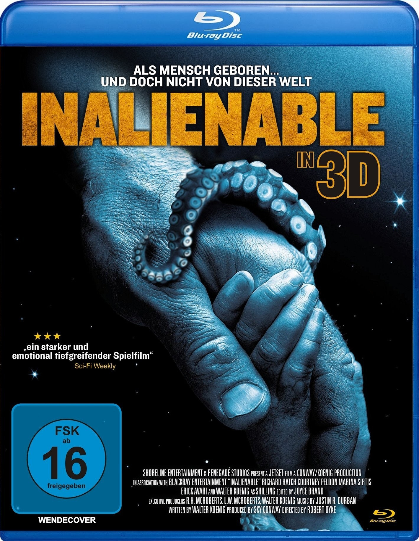 Blu-Ray Film InAlienable 3D