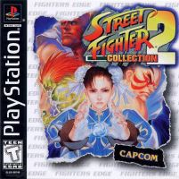 PSX PS1 Street Fighter Collection 2