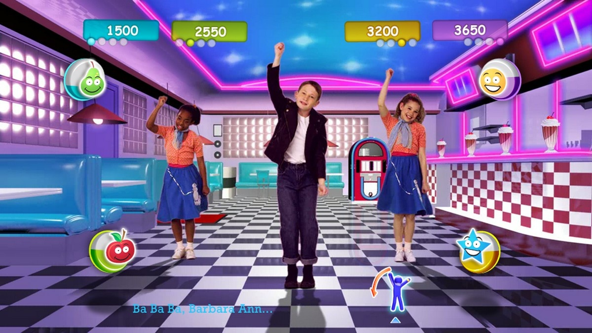 Xbox 360 Kinect Just Dance Kids