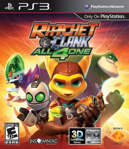 PS3 Ratchet And Clank All4One