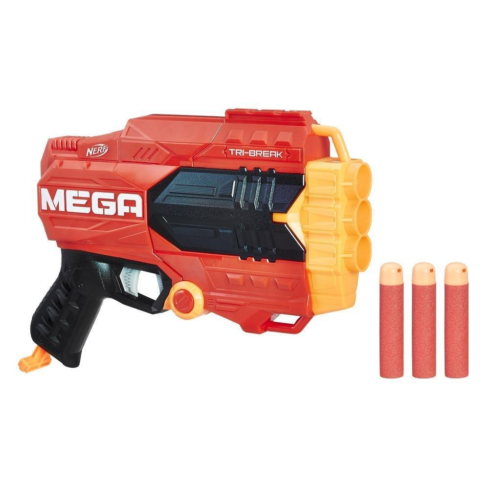 NERF - Mega Tri Break - Hrací Pistole (nová)