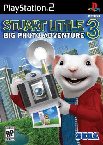 PS2 Stuart Little 3 - Big Photo Adventure