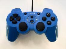 [PS3|PC] Drátový Ovladač Gioteck VX-2 - modrý (estetická vada)