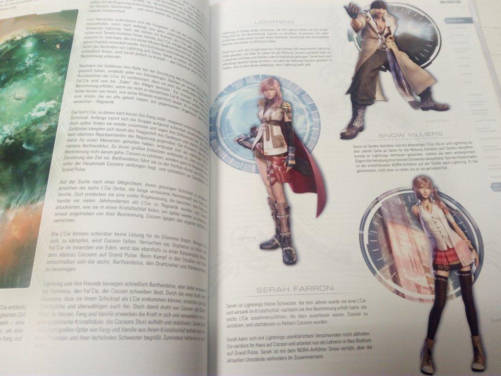 Game Book - Final Fantasy XIII - 2 (DE)