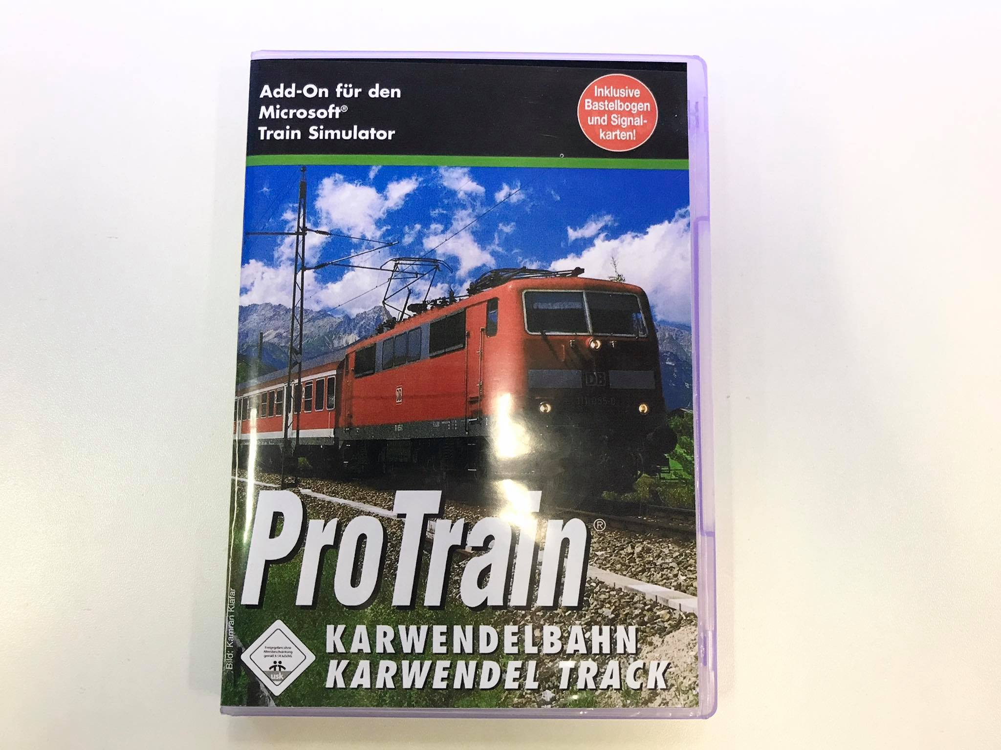 PC Train Simulator - Pro Train (datadisk)