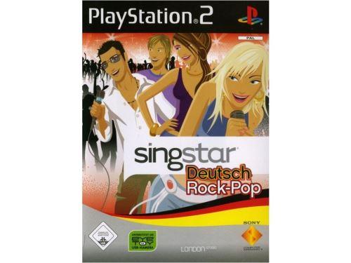 PS2 Singstar - Německý Pop-Rock (DE)