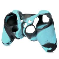 [PS3] Protiskluzový Návlek Na Ovladač (modrý maskáč)