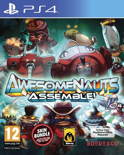PS4 AwesomeNauts Assemble (nová)