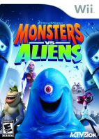 Nintendo Wii Monsters Vs Aliens