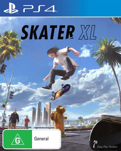 PS4 Skater XL - The Ultimate Skateboarding Game (nová)