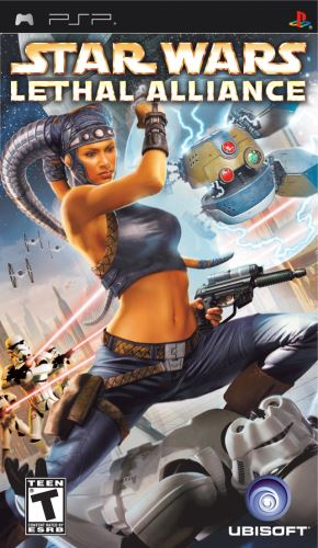 PSP Star Wars Lethal Alliance