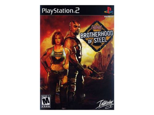PS2 Fallout Brotherhood Of Steel