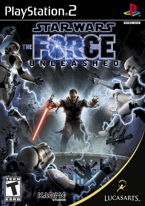 PS2 Star Wars Force Unleashed (DE)