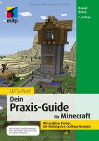 GameBook - Let's play Minecraft - Dein Praxis-Guide (DE)