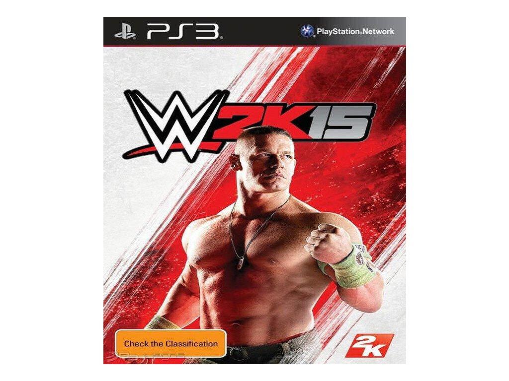 PS3 WWE 2K15 (Bez obalu)