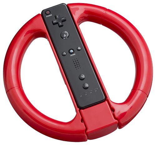 [Nintendo Wii] Bigben Wheel (červený)