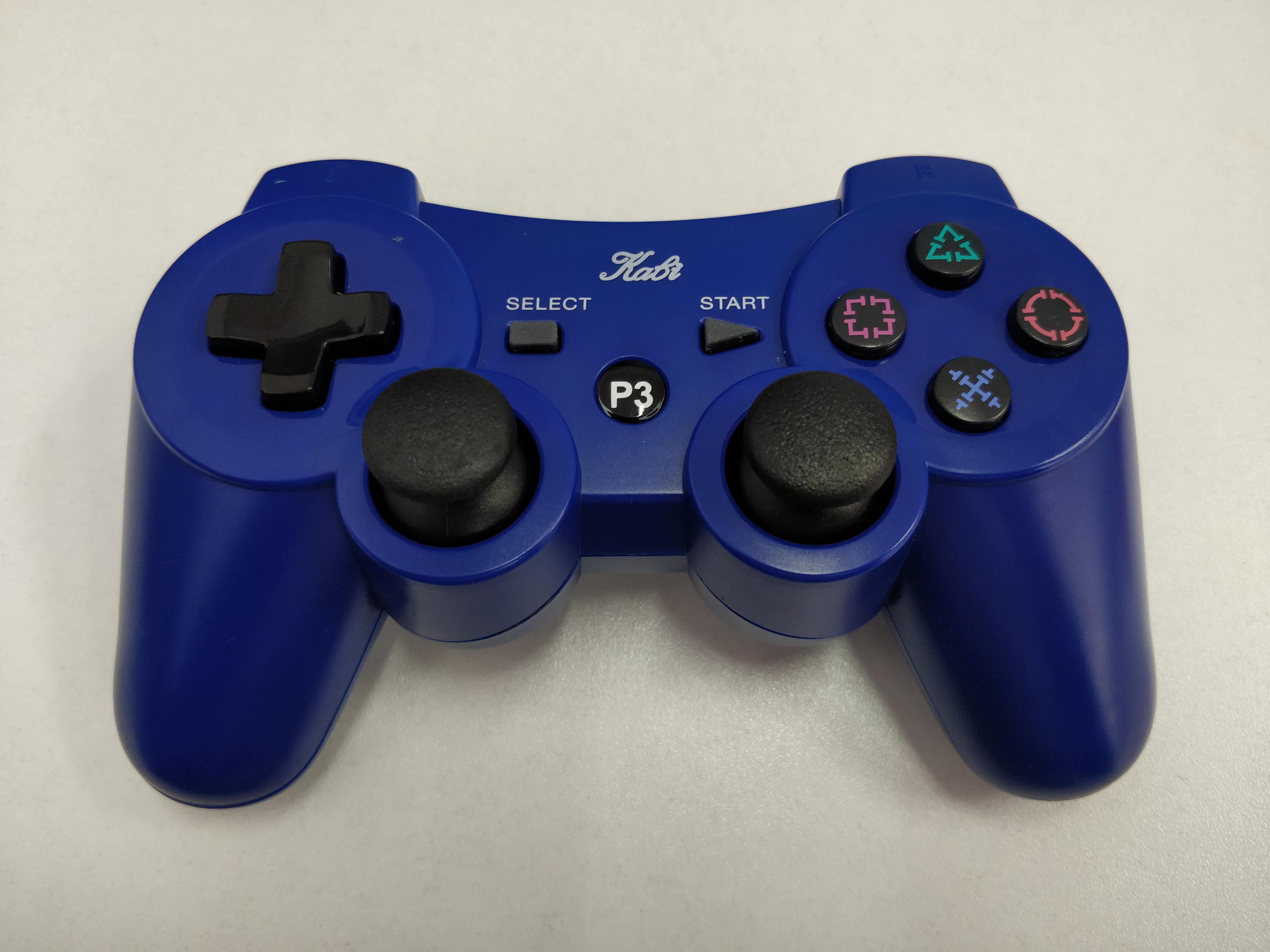 [PS3] Bezdrátový Ovladač Kabi - modrý (estetická vada)