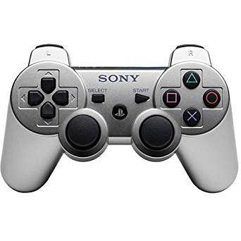 [PS3] Bezdrátový Ovladač Sony Dualshock - stříbrný