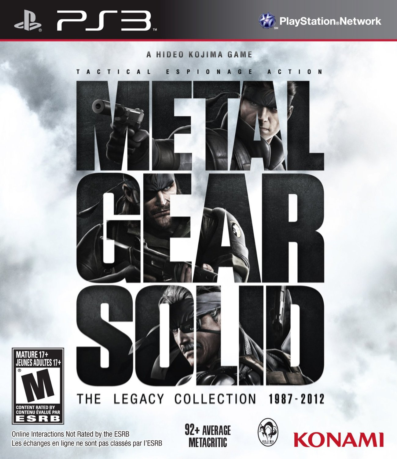 PS3 Metal Gear Solid The Legacy Collection 1987 - 2012