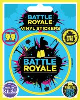 Fortnite Battle Royale Sticker - Samolepka (nová)