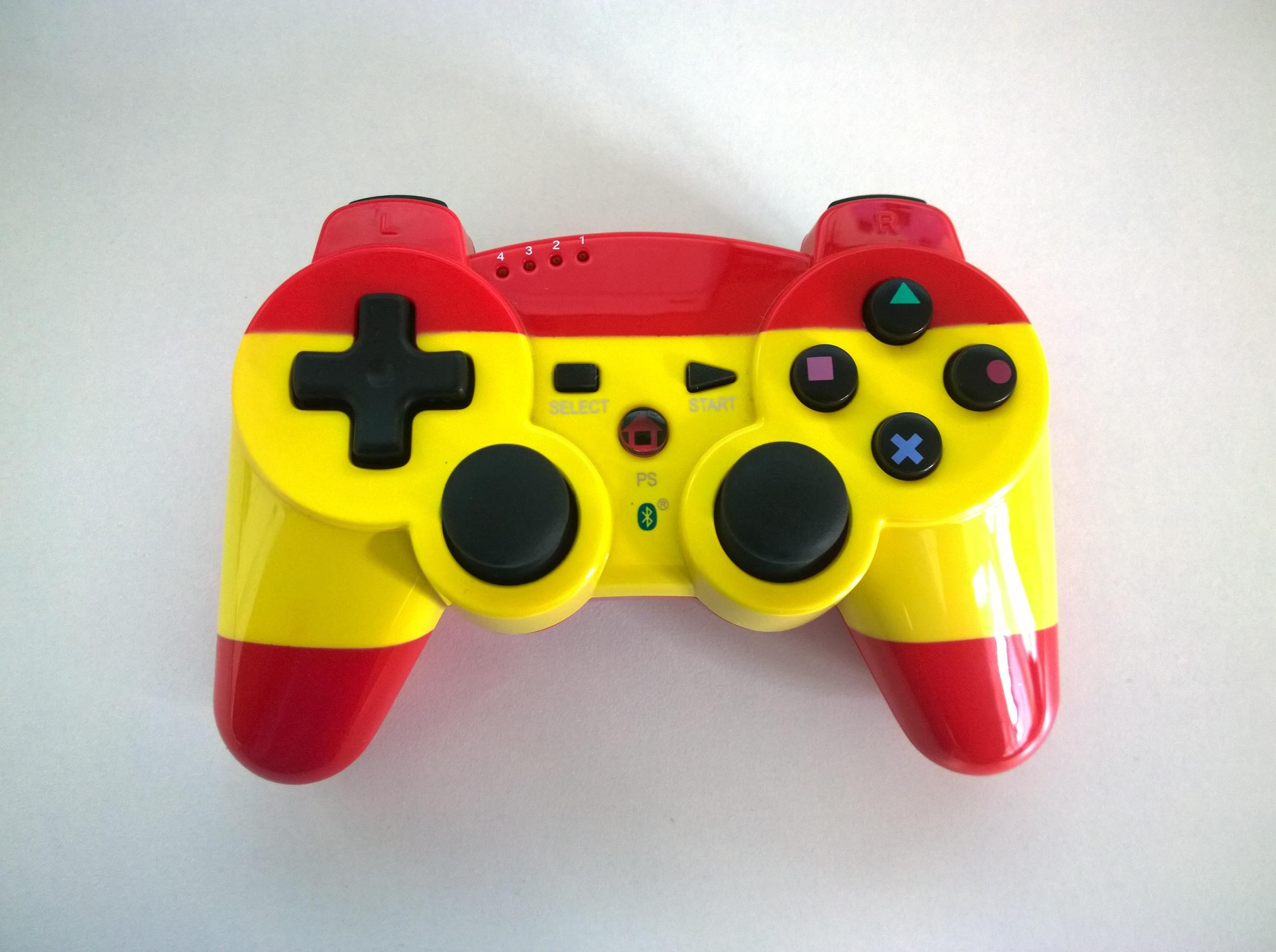 [PS3] Bezdrátový Ovladač BigBen - červenožlutý