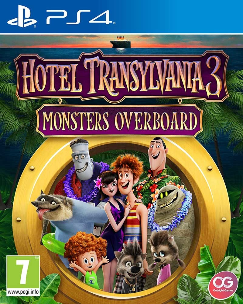 PS4 Hotel Transylvania 3: Monsters Overboard (nová)