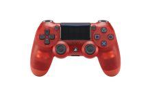[PS4] Dualshock Sony Ovladač V2 - průhledný červený