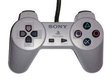 [PS1] Drôtový Ovládač Sony Bez páčok - sivý