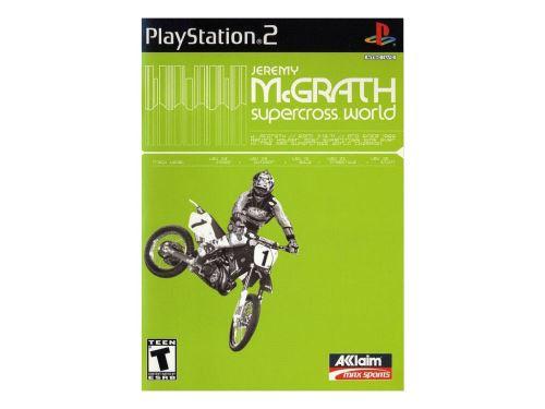 PS2 Jeremy McGrath Supercross World