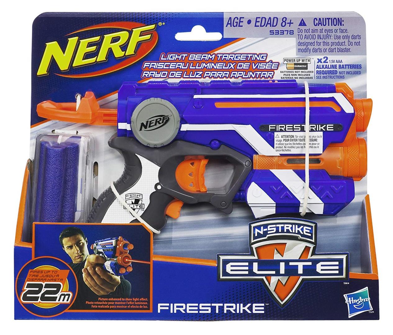 NERF - N-Strike Elite Firestrike - Hrací Pistole (nová)
