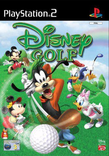 PS2 Disney Golf