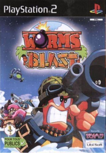 PS2 Worms Blast