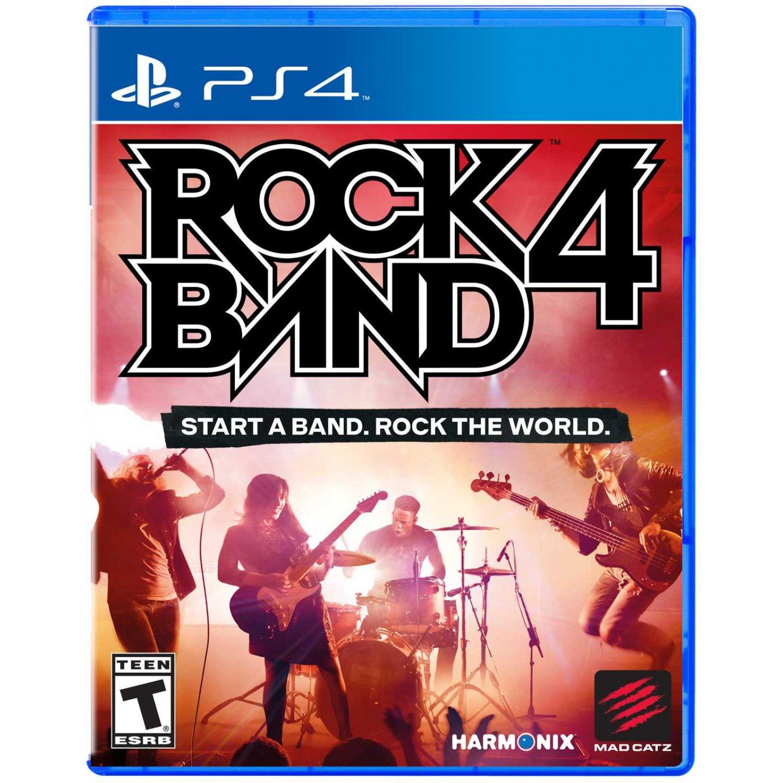 PS4 Rock Band 4 (pouze hra)