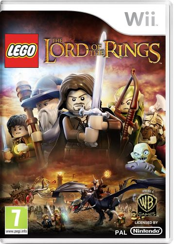Nintendo Wii Lego Pán prstenů, Lord of the Rings