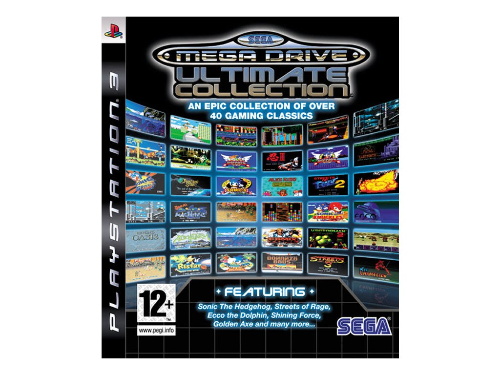 PS3 Sega Mega Drive Ultimate Collection