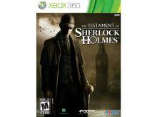 Xbox 360 The Testament Of Sherlock Holmes
