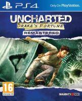 PS4 Uncharted : Drake's Fortune Remastered (CZ) (nová)