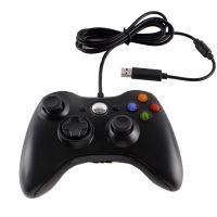 [Xbox 360] Drátový Ovladač - černý (nový)